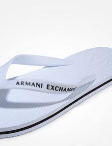 ARMANI EXCHANGE SOLID FLIP FLOPS flip-flop Man e