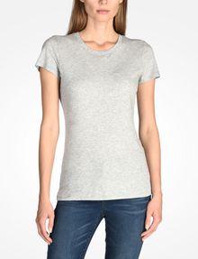 ARMANI EXCHANGE PIMA CREWNECK TEE T-Shirt ohne Logo Damen f