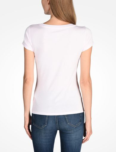 NAIL STUD SCOOP NECK TEE