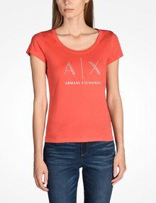 ARMANI EXCHANGE Logo-T-Shirt Damen f