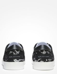 ARMANI EXCHANGE LACE SNEAKERS Shoe D d