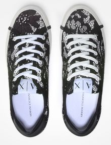ARMANI EXCHANGE LACE SNEAKERS Shoe D e