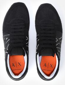 ARMANI EXCHANGE RETRO LOGO SNEAKERS Sneakers [*** pickupInStoreShippingNotGuaranteed_info ***] e