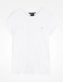 ARMANI EXCHANGE CIRCLE LOGO CREWNECK TEE Logo-T-Shirt [*** pickupInStoreShipping_info ***] b