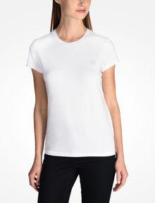 ARMANI EXCHANGE CIRCLE LOGO CREWNECK TEE Logo-T-Shirt [*** pickupInStoreShipping_info ***] f