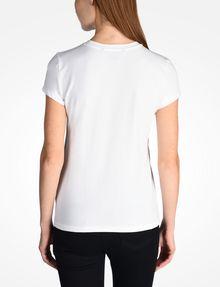 ARMANI EXCHANGE CIRCLE LOGO CREWNECK TEE Logo-T-Shirt [*** pickupInStoreShipping_info ***] r