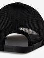ARMANI EXCHANGE FAUX-LEATHER LOGO PATCH HAT Hat Man d
