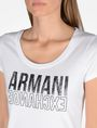 ARMANI EXCHANGE LIVED IN LOGO SCOOP NECK TEE Logo-T-Shirt Damen e