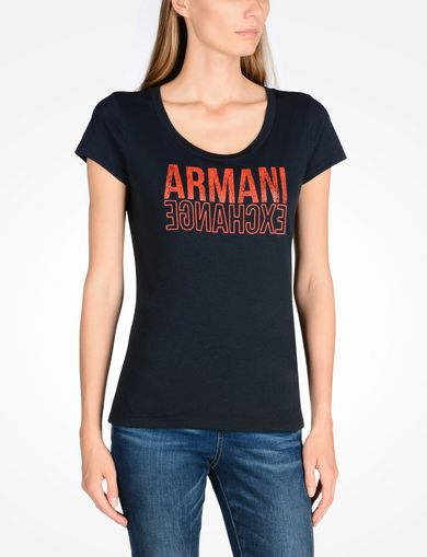 ARMANI EXCHANGE Graphic T-shirt Woman F