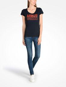 ARMANI EXCHANGE T-Shirt mit Grafik Damen a