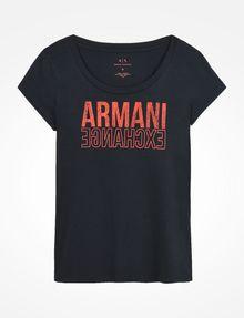 ARMANI EXCHANGE T-Shirt mit Grafik Damen b