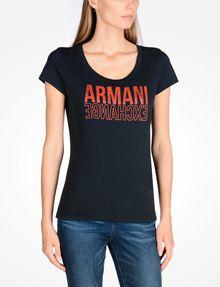 ARMANI EXCHANGE T-shirt graphique Femme f
