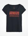 ARMANI EXCHANGE T-shirt graphique Femme b