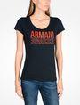 ARMANI EXCHANGE T-Shirt mit Grafik Damen f