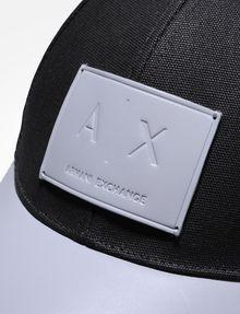 ARMANI EXCHANGE LOGO PATCH HAT Hat Man d