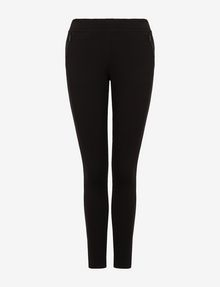 ARMANI EXCHANGE SKINNY PONTE ZIP LEGGING Legging Woman r