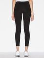 ARMANI EXCHANGE SKINNY PONTE ZIP LEGGING Legging Woman e
