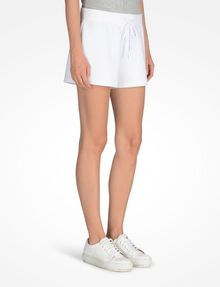ARMANI EXCHANGE SHORTS MIT LOGOPRÄGUNG Fleece-Shorts Damen d