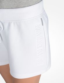 ARMANI EXCHANGE SHORTS MIT LOGOPRÄGUNG Fleece-Shorts Damen e