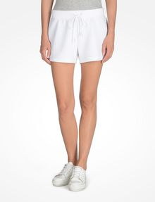 ARMANI EXCHANGE SHORTS MIT LOGOPRÄGUNG Fleece-Shorts Damen f