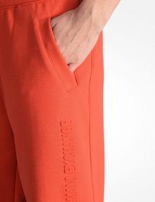 ARMANI EXCHANGE DEBOSSED LOGO JOGGER PANTS Fleece Pant D e