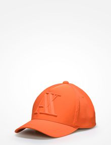 ARMANI EXCHANGE RUBBER AX HAT Hat Man f