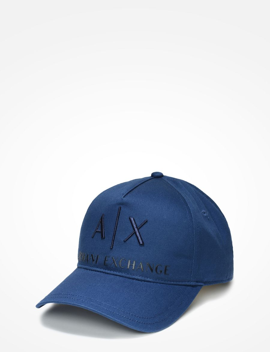 ca2a2c46b1be Armani Exchange AX EMBROIDERED HAT