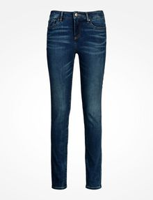 ARMANI EXCHANGE MEDIUM WASH MID RISE SUPER SKINNY JEANS Skinny jeans Woman b