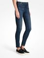ARMANI EXCHANGE MEDIUM WASH MID RISE SUPER SKINNY JEANS Skinny jeans Woman d