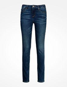 ARMANI EXCHANGE MEDIUM WASH MID RISE SUPER SKINNY JEANS Skinny jeans Woman b