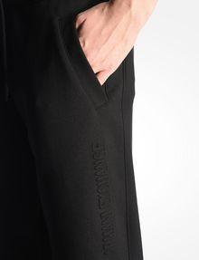 ARMANI EXCHANGE DEBOSSED LOGO JOGGER PANTS Fleece Pant Woman e