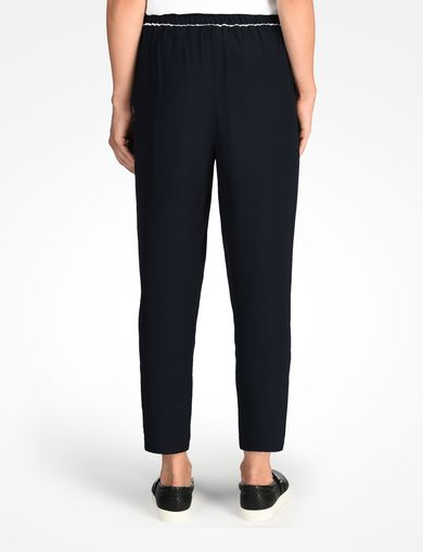 PIPED TRIM TROUSERS