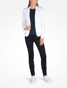ARMANI EXCHANGE CLASSIC ONE-BUTTON BLAZER Blazer Woman a
