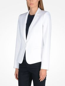 ARMANI EXCHANGE CLASSIC ONE-BUTTON BLAZER Blazer Woman d
