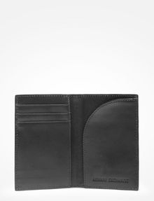 ARMANI EXCHANGE ALLOVER LOGO CARD CASE Small leather good Man r