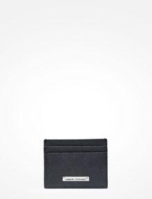 ARMANI EXCHANGE SAFFIANO CARD CASE Small Leather Good Man f