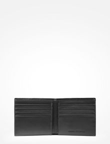 ARMANI EXCHANGE ALLOVER TONAL LOGO BILLFOLD Small leather good Man r