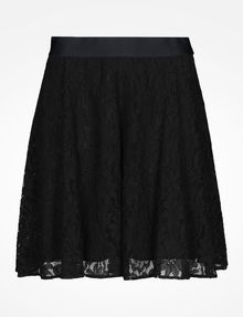 ARMANI EXCHANGE LACE FLARE MINI SKIRT Skirt D b