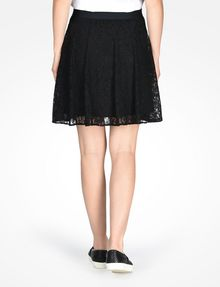ARMANI EXCHANGE LACE FLARE MINI SKIRT Skirt D r
