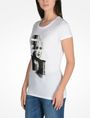 ARMANI EXCHANGE PUNK GIRL TEE Logo Tee D d
