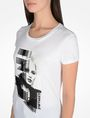 ARMANI EXCHANGE PUNK GIRL TEE Logo Tee D e