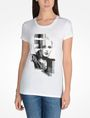 ARMANI EXCHANGE PUNK GIRL TEE Logo Tee D f