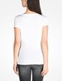 ARMANI EXCHANGE LIPS GRAPHIC TEE Logo T-shirt Woman r