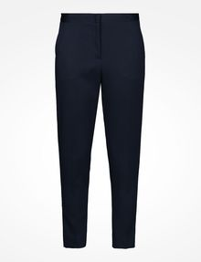 ARMANI EXCHANGE TEXTURED CROPPED TROUSERS Pant D b