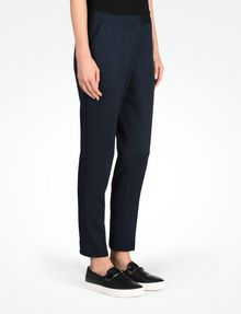 ARMANI EXCHANGE TEXTURED CROPPED TROUSERS Pant D d