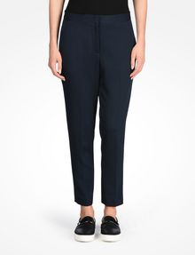 ARMANI EXCHANGE TEXTURED CROPPED TROUSERS Pant D f