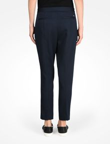 ARMANI EXCHANGE TEXTURED CROPPED TROUSERS Pant D r