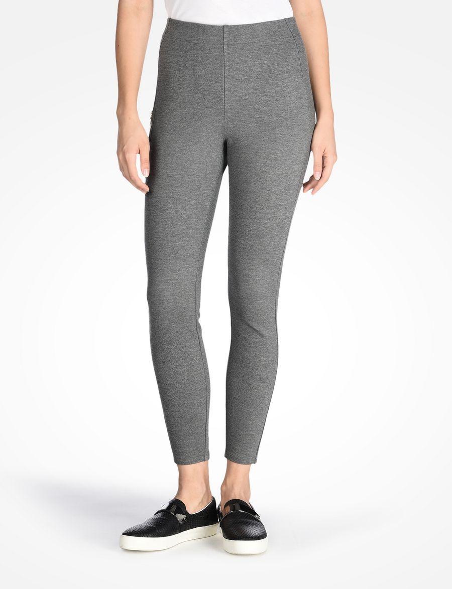 armani exchange zipper leggings legging for women a x online store. Black Bedroom Furniture Sets. Home Design Ideas