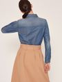 ARMANI EXCHANGE TAILORED DENIM WORKSHIRT L/S Woven Top Woman e
