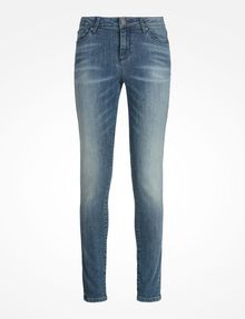 ARMANI EXCHANGE MEDIUM WASH SUPER SKINNY JEANS Skinny jeans Woman b